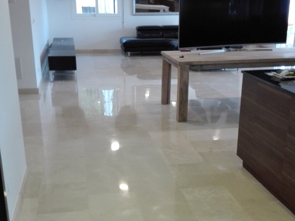 Marble polishing specialists Andalucia